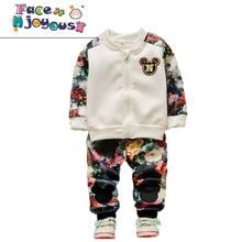 afb0437ab948 Ropa de bebé niño Bebé Ropa de manga larga cremallera Caot chaqueta +  Pantalones de La