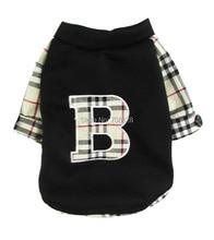 "Fashionable ""Burberry"" hooded sweatshirt / 2 Colors"