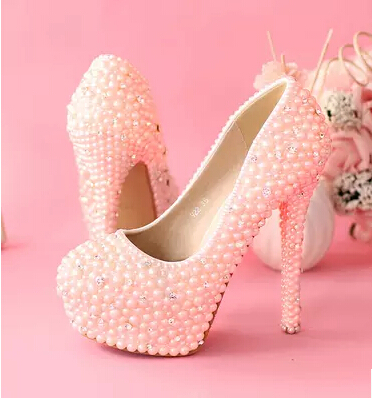 Pink Diamond High Heels | Tsaa Heel