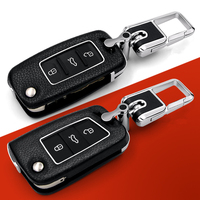 Car Remote Key Case Shell Cover Car Styling Key Cover For Volkswagen Vw Golf 7 Skoda