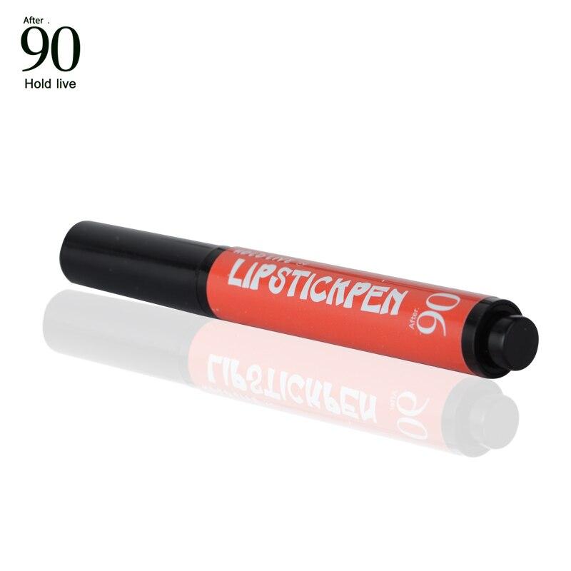 Hold Live New Pop Velvet Matte Press Button Lipstick 6 Colors Moisturizing Rouge Batom Makeup Long Lasting Hydrating Charm Lips