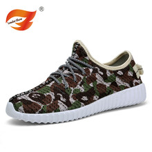 High Quality Camouflage Outdoor Shoes Man Mesh Shoes 2016 Spring Summer Breathable  Fashion Flats Men Casual Shoes Jogging