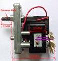 AC shaded pole motor da engrenagem GM6030C-0005 AC220V 50Hz para máquina de embalagem, soldador local, berço