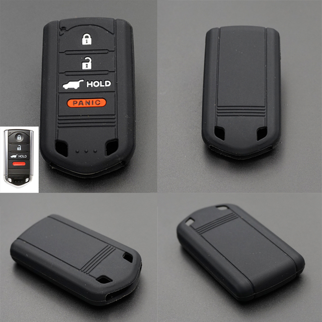 Xinyuexin Silicone Key Case Cover Shell Holder For Honda