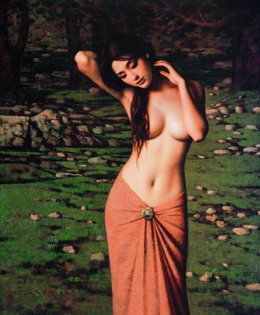 Acrilico Grande Parete Della Tela di canapa Painting Art Buyers ...
