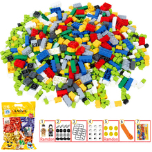 450PCS/pack Building Brick Blocks Compatible with Noted Brand  DIY Toy for Kids Children 7 Gifts in Pack Figures Brick-separator