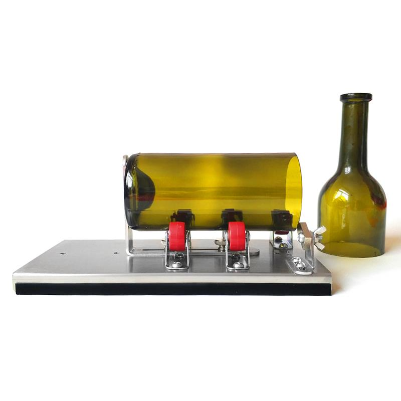 Stainless Steel Glass Bottle Cutter Kits Professional Beer Wine Glass Bottle Cutting Tools Control Create Glass Sculptures