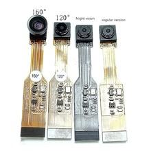 5 миллионов OV5647 Raspberry Pi, обычная версия, ночное видение, широкоугольная камера «рыбий глаз»