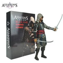 5pcs Free EMS Assasins creed Action Figure Toy children's Christmas gifts