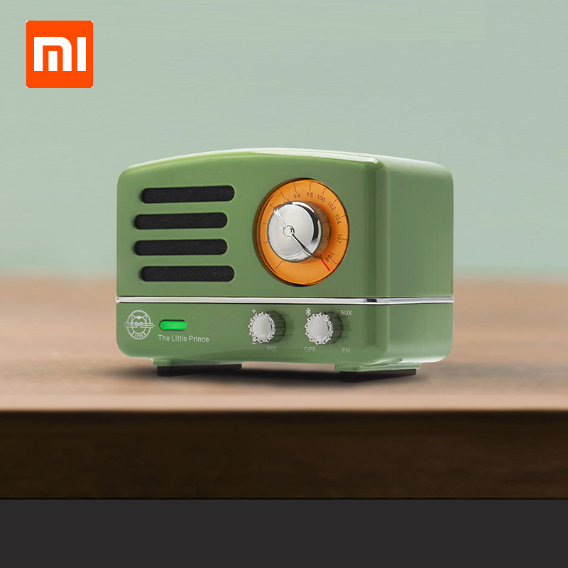 Vriendelijk Xiaomi Cat Koning Otr Bluetooth Radio Speaker Kleine Prins Goede Sound Voice Kwaliteit Mini Draagbare Mp3 Muziekspeler Verjaardagscadeau