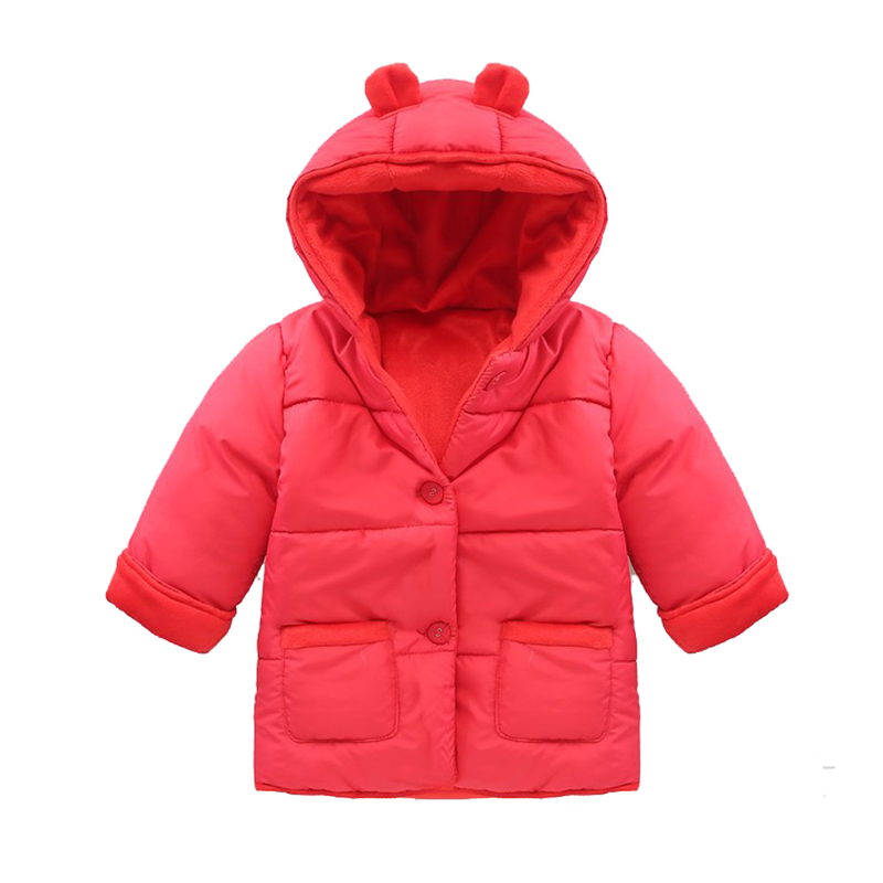 97b7220a88c9 Baby Winter Cotton Coat Baby Girl Candy Cute Thick Down Boy ...