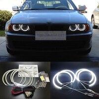 HochiTech Super Bright White Color Light SMD LED Angel Eyes 4pcsx131mm For BMW E36 E38 E39