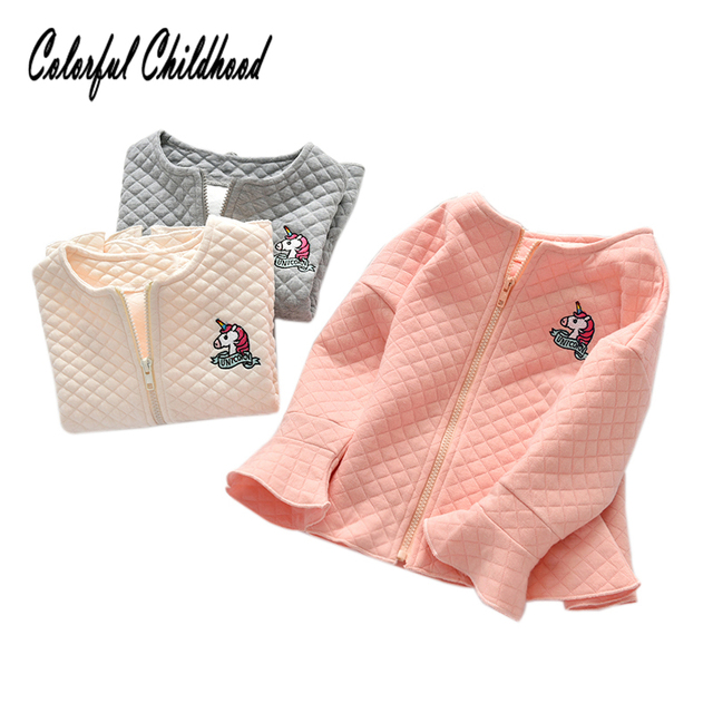 703c1ff0bb3e Aliexpress.com   Buy 2 6Yrs girls jackets autumn winter flare sleeve ...