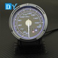 High Quality 2.5 INCH 60MM DY BF  Oil temp gauge with Blue color Light Car Oil temperature Meter