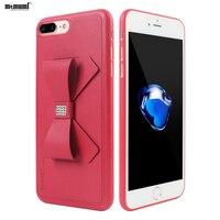 memumi Kickstand Case For iPhone 8 Plus Diamond Protection Case for iphone 7 plus Butterfly Back Cover for Apple iPhone 8plus