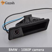 1080P HD ดูด้านหลังกล้องสำหรับ BMW X5 X1 X6 E39 E53 E82 E88 E84 E90 E91 E92 e93 E60 E61 E70 E71 E72 เปลี่ยน Trunk Handle