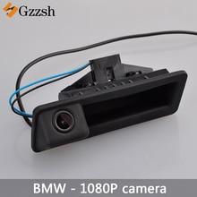 1080P auto HD Achteruitrijcamera voor BMW X5 X1 X6 E39 E53 E82 E88 E84 E90 E91 E92 e93 E60 E61 E70 E71 E72 Vervanging kofferbak handvat