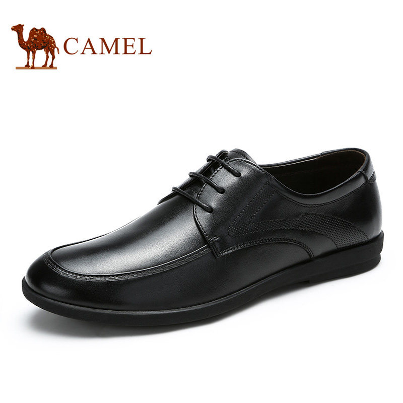 Camel men 's spring and summer business simple casual genuine cow leather shoes wear-resistan comfortable A712043710 free shipping new spring and summer fashion men s denim jeans slim wear white pantyhose feet