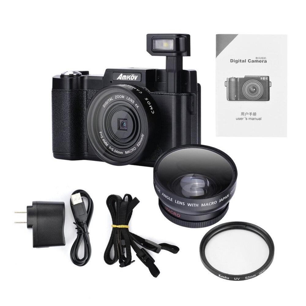 D'origine CDR2 24 mégapixels 1080 P HD Mini Appareil Photo Numérique 4 Fois le Zoom Numérique Caméra avec ÉCRAN TFT Beauté Fonction De retardateur