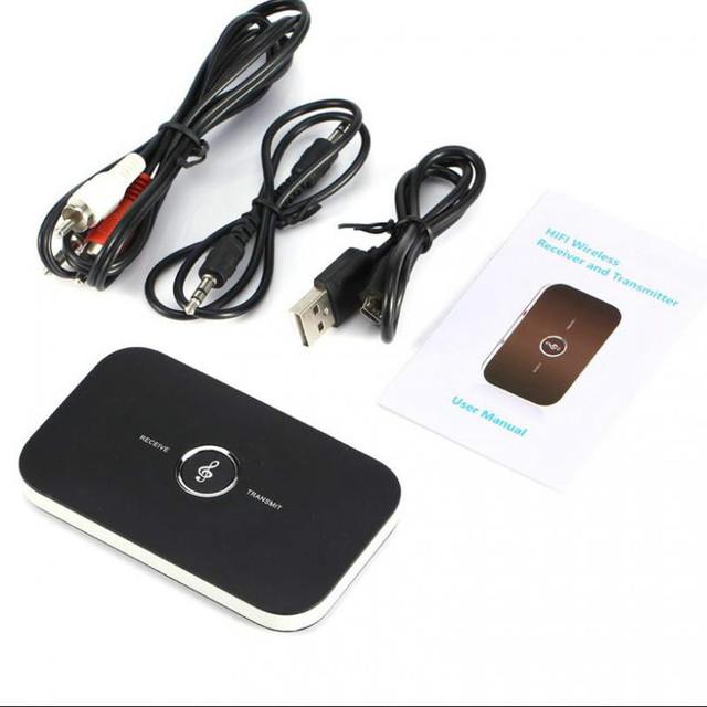 Alta qualidade 2 in1 Transmissor Bluetooth Receptor de Música de Áudio Estéreo Sem Fio Bluetooth APTX Lossless Transmissor Bluetooth