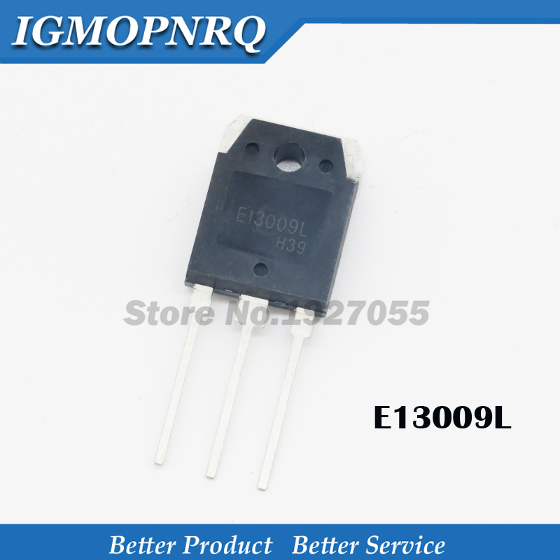 10PCS E13009L TO 247 MJE13009L TO 3P  E13009 TO 3P 13009L KSE13009L  13009  NEW original-in Integrated Circuits from Electronic Components & Supplies