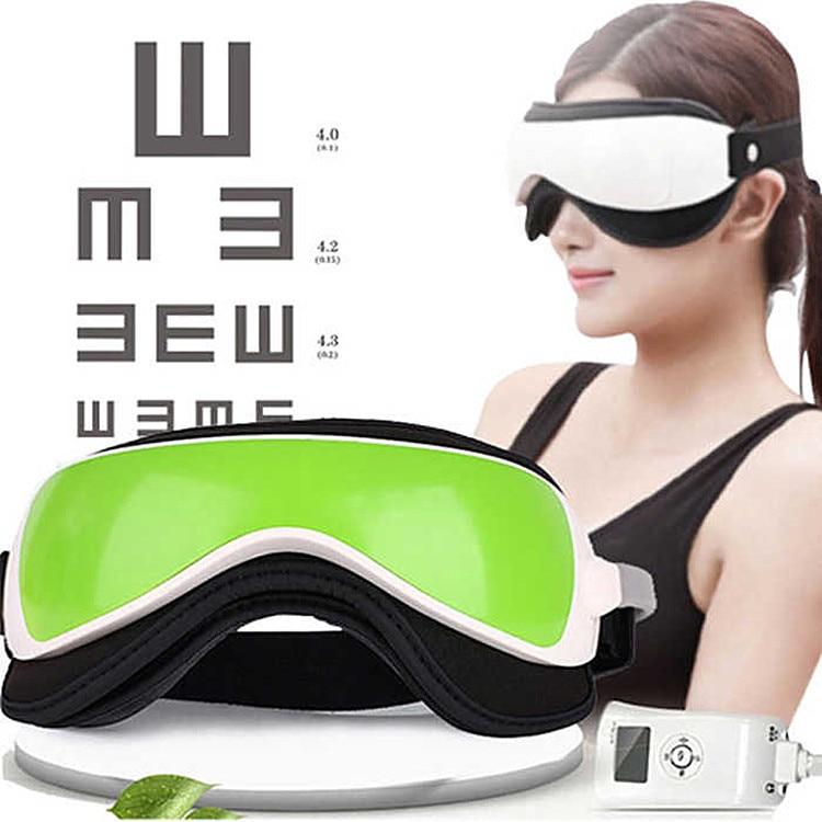 Produits de qualité micro-ordinateur région oculaire Massage infirmière protéger Instrument pression Patch musique compresse chaude yeux