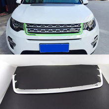 Exterior car accessories ABS Car body kits front grill trim cover For 2017 Discovery Sport car body kits abs chrome front grill cover car sticker for toyota vios 2017