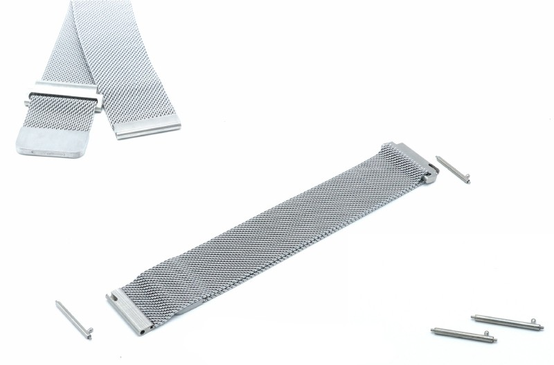 16,18,20,22 mm Milan strap with wrist bracelet and stainless steel strap