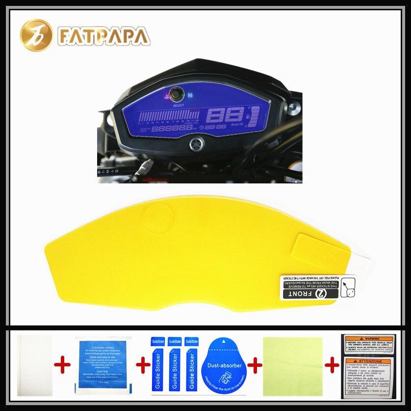motorcycle Meter Km Table Display screen Blu-Ray Protective film Suitable FOR YAMAHA M-SLAZ150 MT-15 M SLAZ150 MT 15 2016