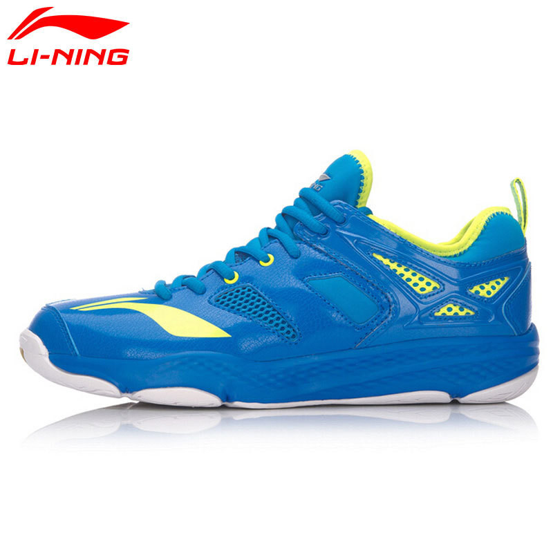LiNing Badminton Shoes for Men Breathable Anti-slip Lining Sports Shoe LiNing Athletic Sneakers Shock Absorption AYTM019 L666OLC li ning professional badminton shoe for women cushion breathable anti slippery lining shock absorption athletic sneakers ayal024