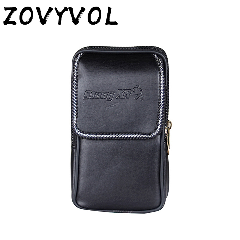 ZOVYVOL Waist Bag Outdoor Small Phone Coin Men  Wear Belt Pocket Porta Tarjetas Heuptas Heren Casual Waist Pack Porta Tarjetas