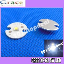10 шт. Cree XLamp XPG2 XP-G2 R5 теплый белый холодный белый 1 W~ 5 W 3000 k 4000 k 6000 K 220LM светодиодный светильник на 16 мм Круглый печатной платы