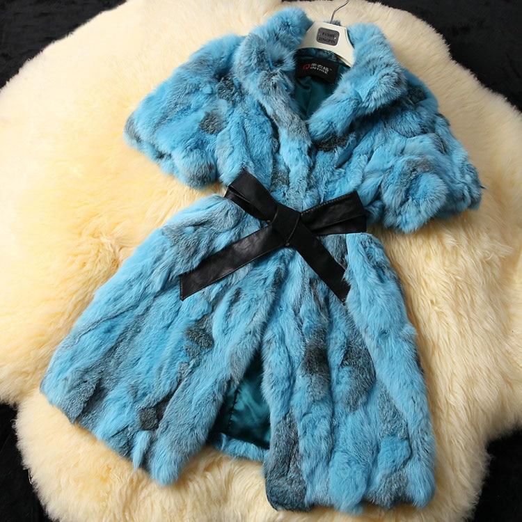 2019 kobiet nowy nabytek płaszcz z prawdziwego futra królika rex prawdziwe naturalne królik leopard kurtka z futra dla kobiet płaszcz zimowy DFP301B w Prawdziwe futro od Odzież damska na  Grupa 1