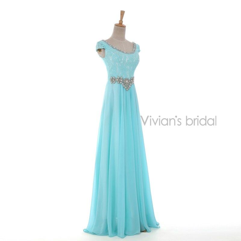 Vivian's Bridal Crystal Beads Ұзын кешкі көйлек - Ерекше жағдай киімдері - фото 2