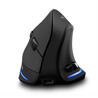 Wireless Mouse Vertical Mouse Ergonomic Optical 2400 DPI 6 Buttons ergonomic Mause for Windows MAC OS for computer laptop