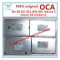 ОСА Клей Защитные пленки Для lg g2/g3/g4/g5/nexus 4/nexus 5/nexus 5x двухсторонней Наклейкой Оптический Клей ЖК-стекла ремонт