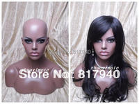 High Quality Fiberglass Realistic Mannequin Dummy Head Mannequins Display Wigs Hat Glass Jewelry Mannequin Head Display