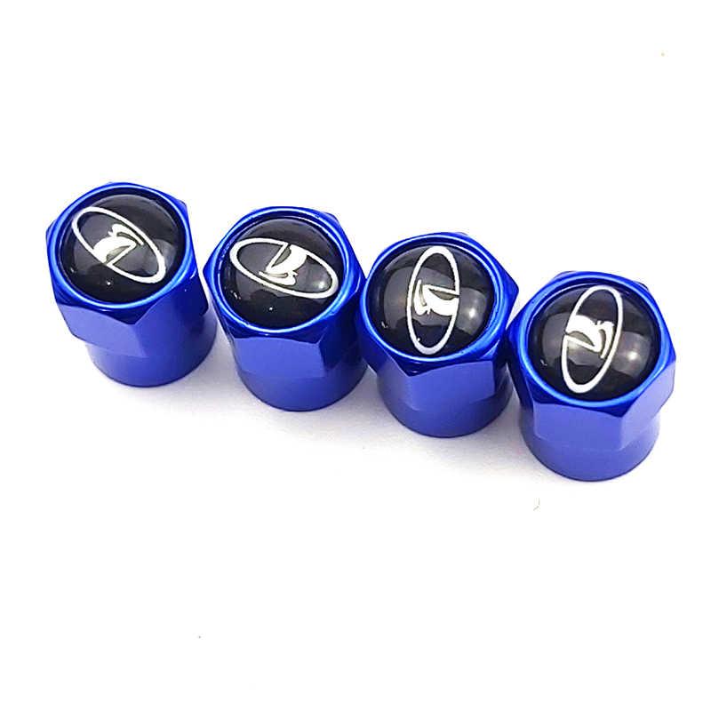 4 шт. синие автомобильные клапаны для колесных шин пневматические колпачки для skoda Ford Nissan Toyota hyundai Mazda bmw audi Opel Subaru daica SAAB BENZ A7