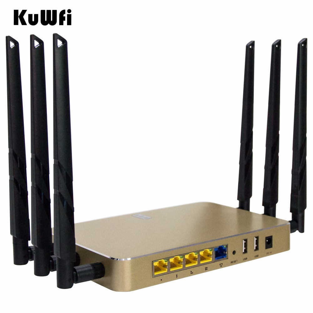 US Shipping 1200Mbps Wireless Router 802.11 AC Through Wall Wifi Router 2.4G/5G Dual Band Wireless AP/Gateway/Repeater roteador repetidor wifi mi router hd version wifi repeater 2533mbps 2 4g 5ghz dual band app control wireless metal body mu mimo