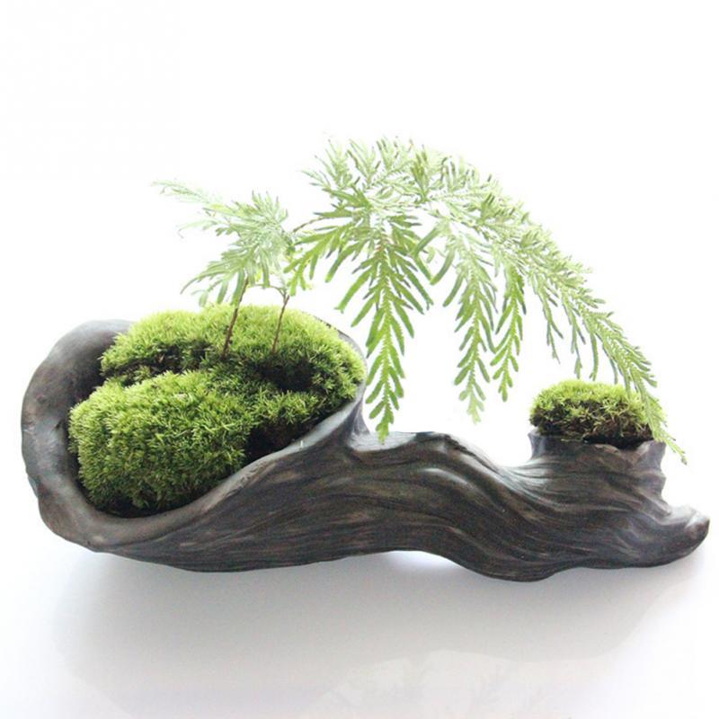 Новый Террариум для рептилий, украшение «сделай сам», чистый натуральный мох, бонсай, Лесной тротуарный цилиндр, ландшафтные садовые аксесс...