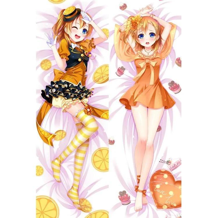 Dakimakura Kousaka Honoka Anime Hugging Girl Body Pillows Case Cover Love Live