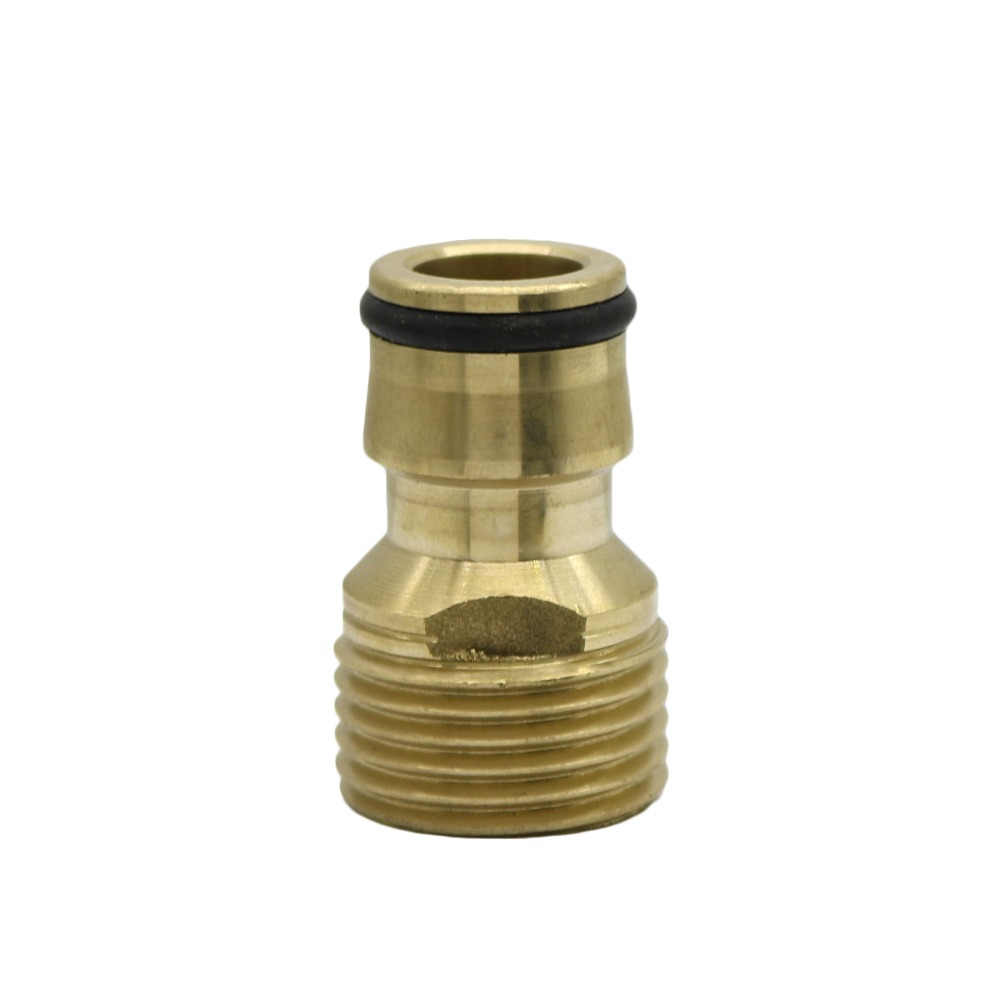 """HTB1OCCNXfvsK1Rjy0Fiq6zwtXXah 1/2"""",3/4"""",1"""" Thread Brass Quick connector Agriculture tools Garden Watering Adapter Durable Joint Drip Irrigation Fittings 1 Pcs"""