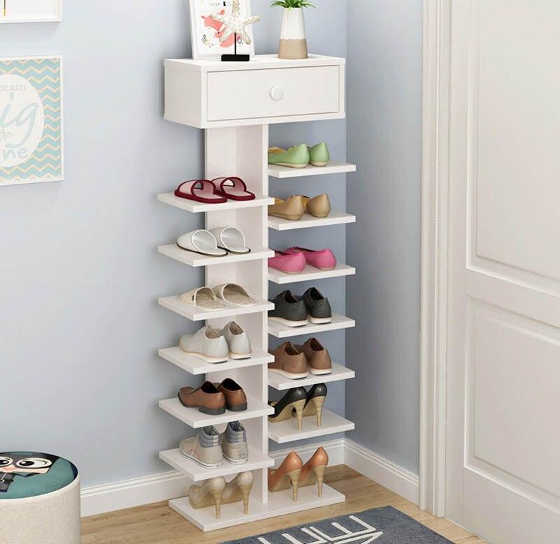 Multi-fonction Préleveur Multicouche Ménage Pratique Armoire À Chaussures De Stockage Rack Salon Boîte À Chaussures Chaussures Organisateur Furnitue