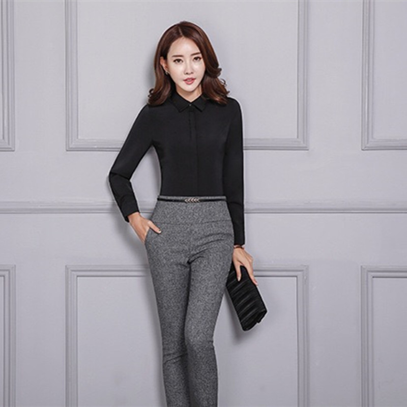 HTB1OCCPbMnH8KJjSspcq6z3QFXak - Office Lady Formal Pants Women High Waist Work Trousers Fashion Casual Autumn Spring Pencil Pants Female Clothing 4XL XXXL