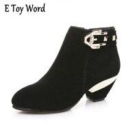 Damskie buty do kostki martin butów z prawdziwej skóry z Europejskich i Amerykańskich kobiet buty w skóra wewnątrz guma dolna