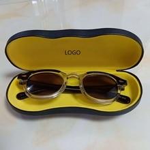Johnny Depp Glasses Polarized Sun Glasses Men Woman Brand Designer UV400 Driving Shades Acetate Glasses Frame Top quality SQ083 цена и фото