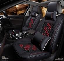 цена на  car seat covers cushion leather set pu mats pad for Citroen QUATRE Triomphe elysee Picasso C2 C4 C5 C4L free shipping hot sale