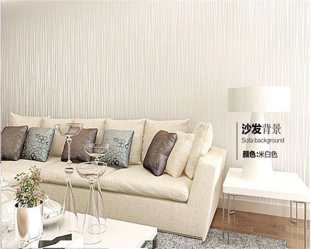 Kamar Tidur Dengan Desain Dinding Garis Rumah Wallpaper Sticker Toko Online Beibehang 3