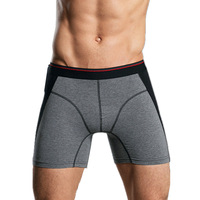Men Sports Compression Shorts Active Running And Gym Brief Hot Tight Boxer Trunks Sports Brief Underpants
