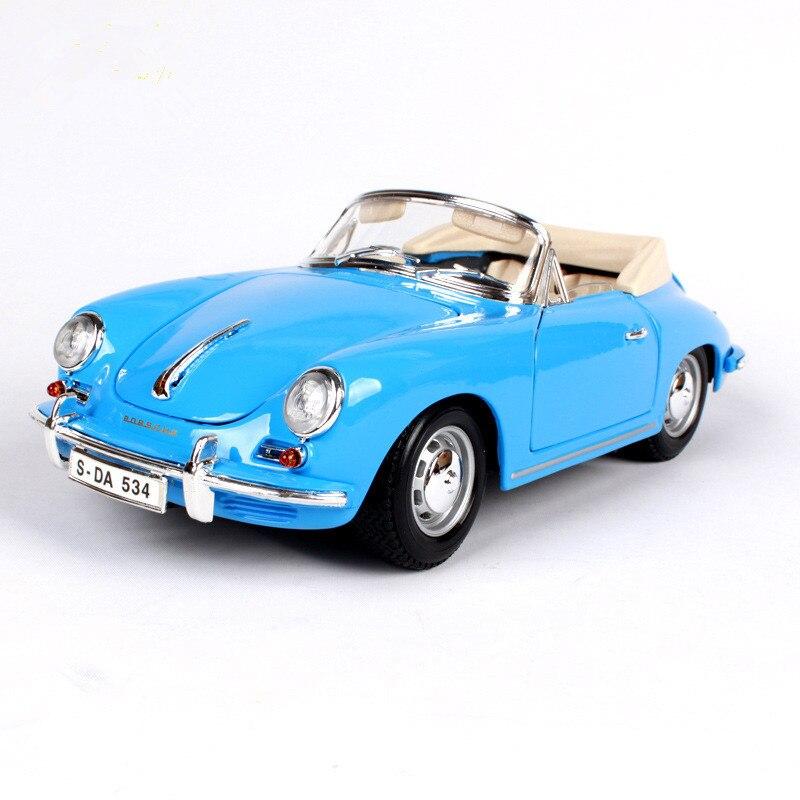 1/18 Open Simulation Alloy Car Model 1961 356B Personalized Car Model Metal Car Model 24x10x7.5cm autoart 1 18 nissan alto skyline nismo s1 alloy model car